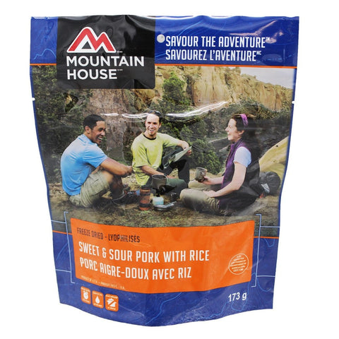 Sweet & Sour Pork with Rice -  Two Serving (Mountain House®)