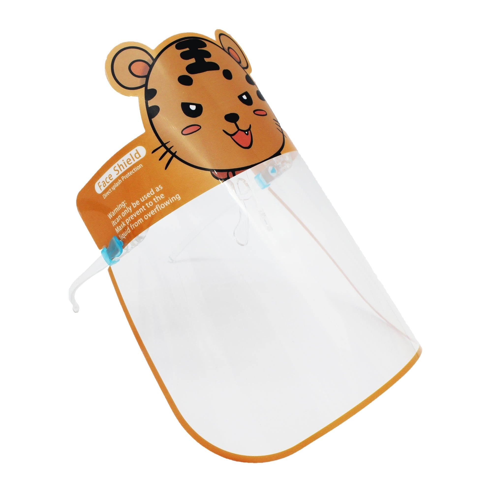 Kids Face Shield Tiger