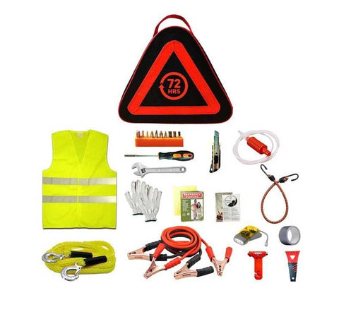 72HRS Basic Roadside Emergency Kit