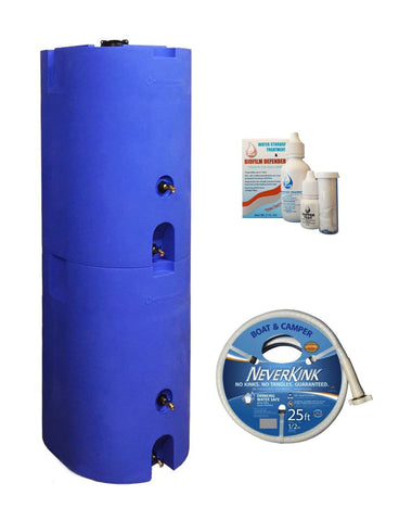 Two-Tank 320 Gallon Water Storage System