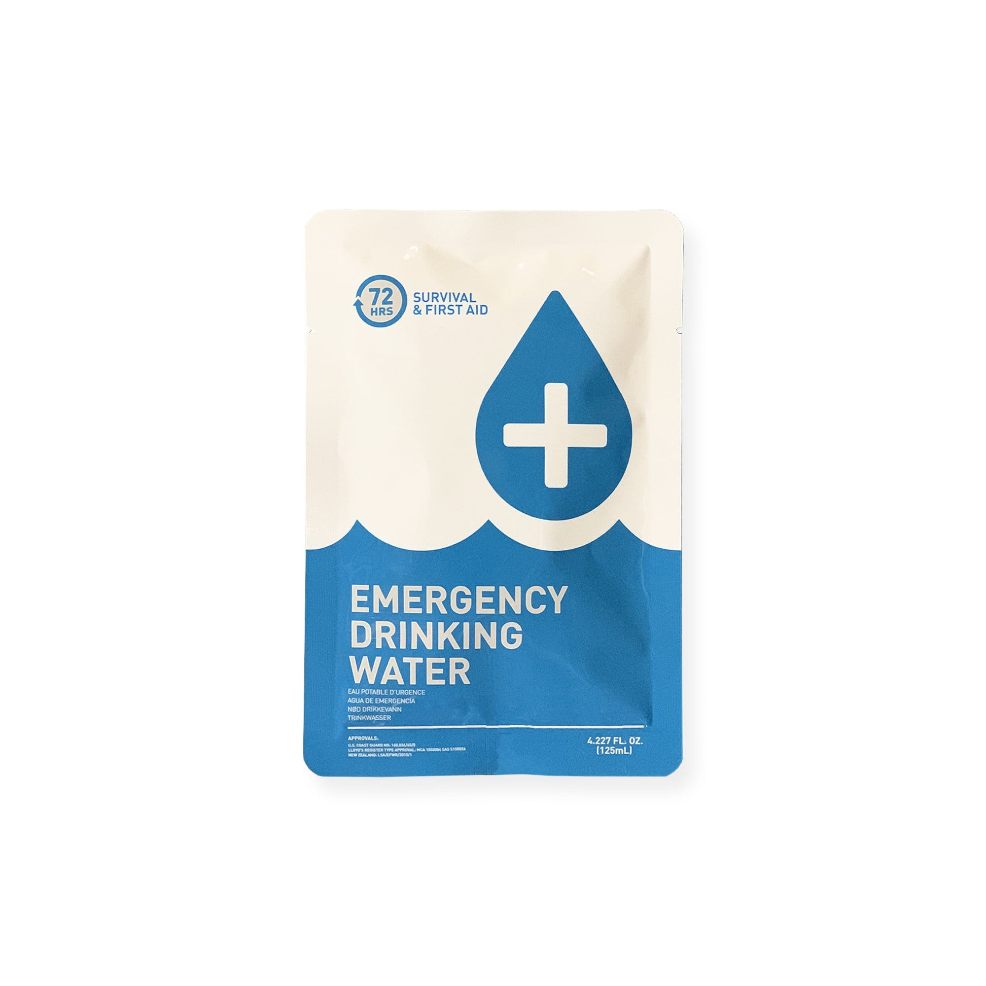 72HOURS Emergency Drinking Water 125ml