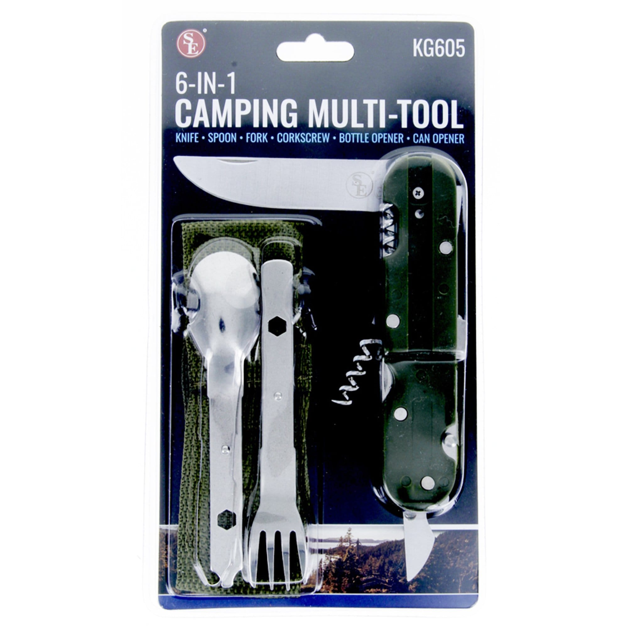 6-IN-1 Tool Kit - Camping Multi Tool
