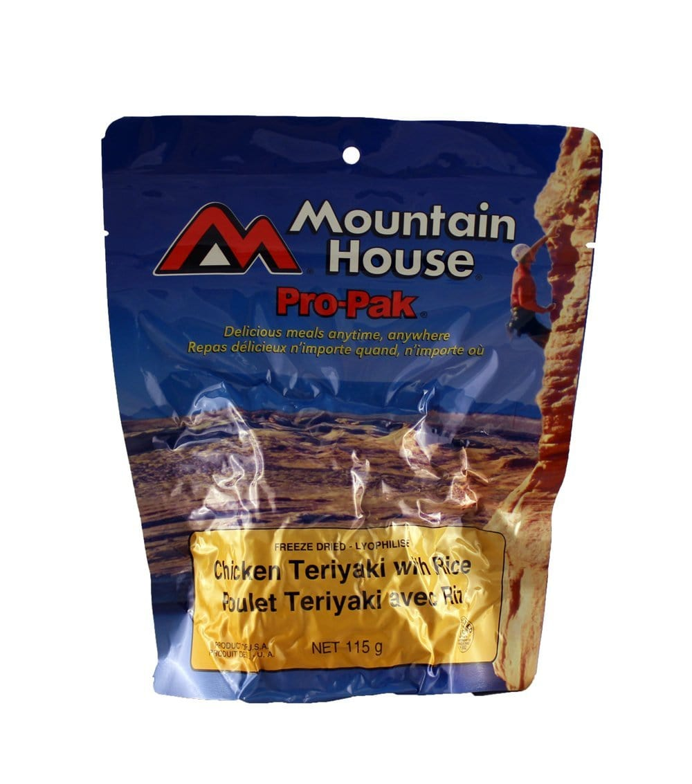 Pro-Pak Chicken Teriyaki with Rice Pouch - One Serving (Mountain House®)
