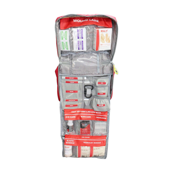 Ready First Aid Family Kit - Group Size 1 to 6 Open