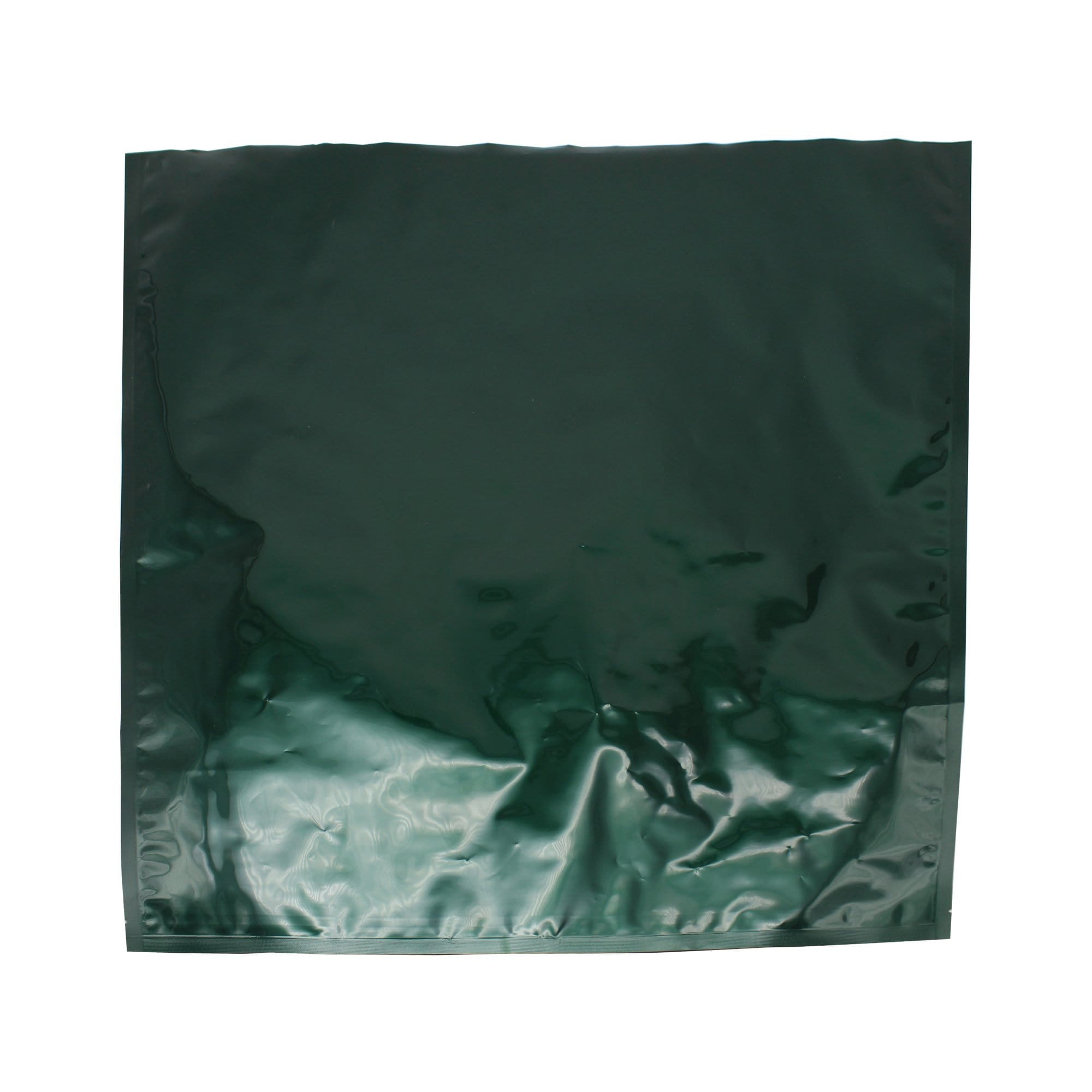 Green Mylar Foil Bag - 45.09cm x 47.63cm (17.75 inches x 18.75 inches)