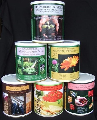 Preparedness Seed Pack Collection