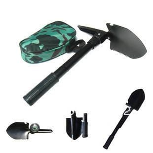 72HRS 5-In-1 Survival Shovel