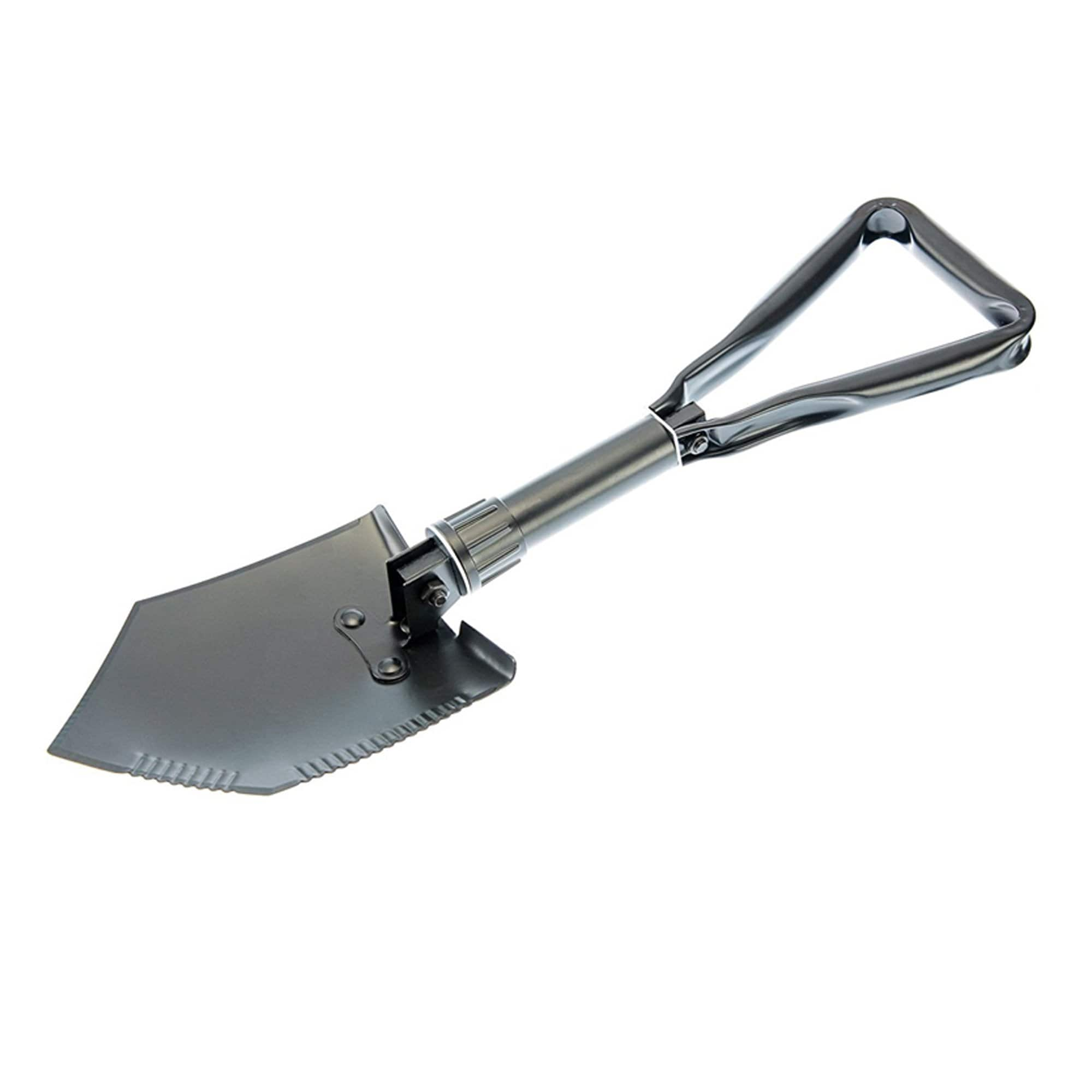 Tri-fold Serrated Shovel