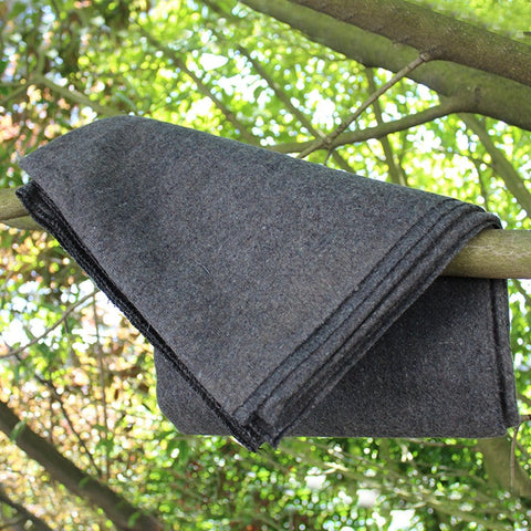 "Wool Blanket (50% Wool), 51"" x 80"", 2LBS, Gray Colour - Ready First Aid™"