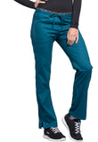 Photo of Caribbean Blue Cherokee CK003 Mid Rise Straight Leg Pull-on Pant
