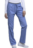 Photo of Ciel Cherokee CK003 Mid Rise Straight Leg Pull-on Pant