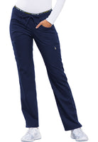 Photo of Navy Cherokee CK003 Mid Rise Straight Leg Pull-on Pant