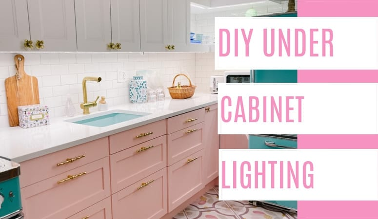 At Home With Ashley - DIY Under Cabinet Lighting