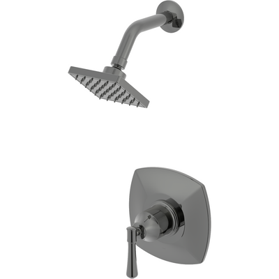 Aurora Collection - Shower Trim Kit.  Brushed Nickel Finish | Lulani