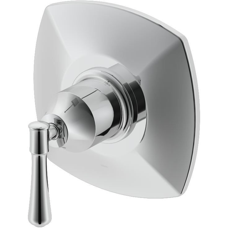 Aurora Collection.  Shower Trim Kit.  Chrome finish