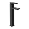 Boracay - Single handle vessel height lavatory spout, Matte Black | Lulani