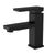 Boracay Collection - Single handle washroom faucet.  Matte Black Finish. Single hole installation | Lulani