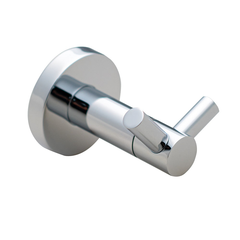 St. Lucia Collection Robe Hook, Chrome Finish | Lulani