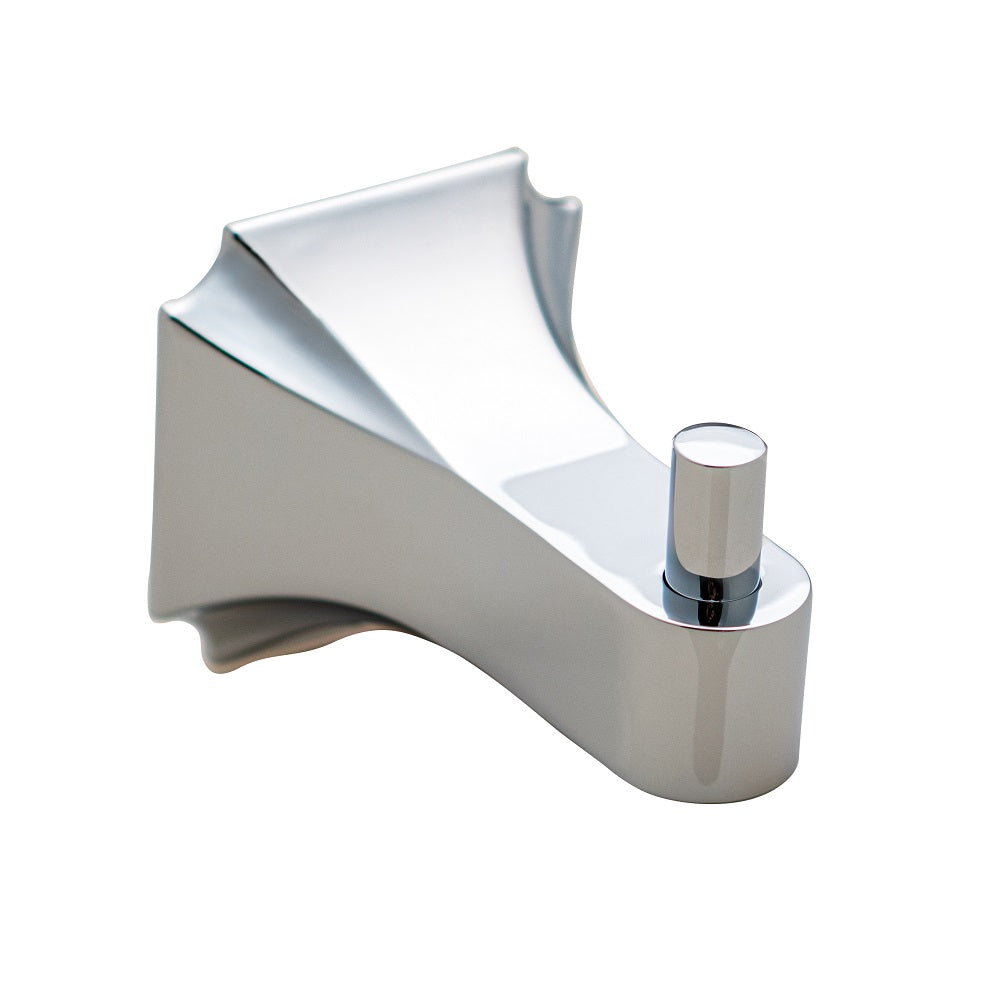 Aurora Collection - Robe Hook, Chrome Finish | Lulani Faucet Co.
