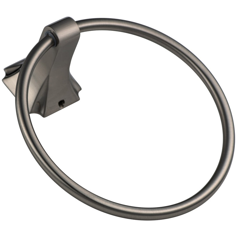 Aurora Collection - Chrome Hand Towel Ring | Lulani