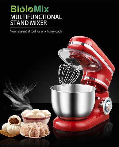 Stand Mixer Stainless Steel
