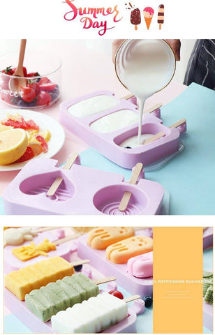 New Silicone Ice Cream Mold