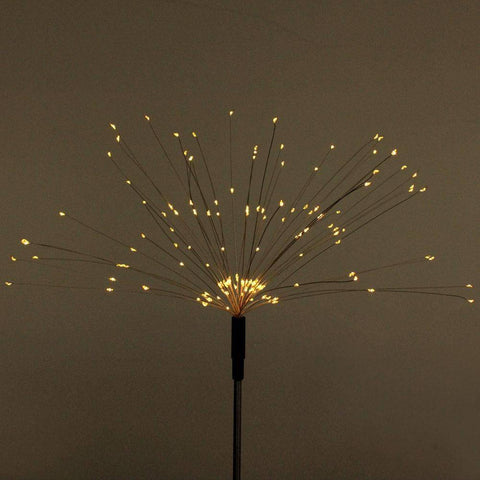 Floor lamp Solar Fireworks Light 90/150 LED