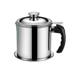 1.3L Stainless Steel Oil Strainer Pot