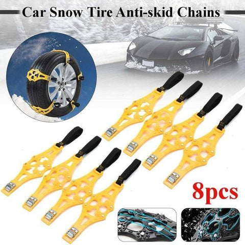 Car Snow Tire Anti-skid Chains