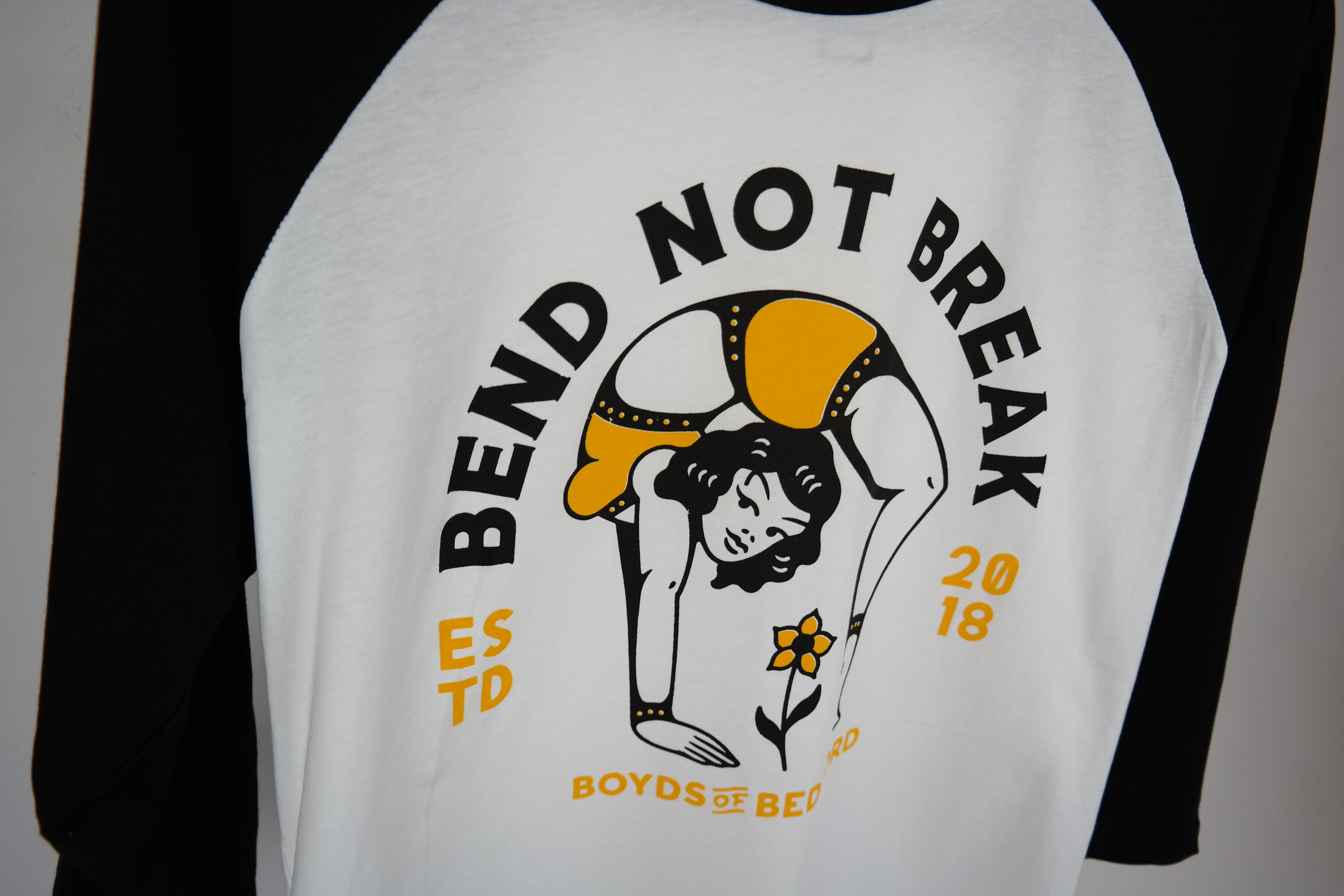 BEND NOT BREAK RAGLAN