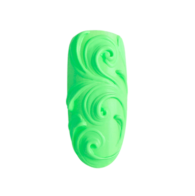 Bluesky Carving Gel, Emboss Gel in Green