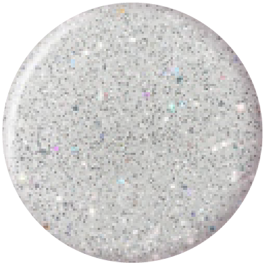 Bluesky Professional SILVER GLITTER EXPLOSION swatch, product code 80573