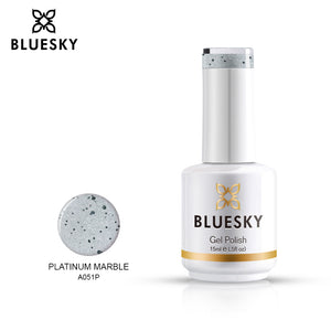 Bluesky Professional PLATINUM MARBLE bottle, product code A051