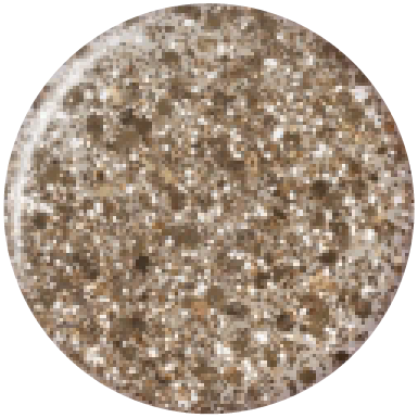 Bluesky Professional GOLD BUTTON swatch, product code DC002