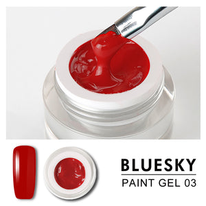Bluesky Professional - Red Gel Paint - #DK03