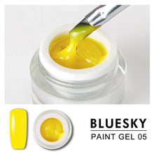 Load image into Gallery viewer, Bluesky Professional - Yellow Gel Paint - #DK05