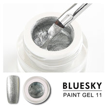Load image into Gallery viewer, Bluesky Professional - Silver Gel Paint - #DK11