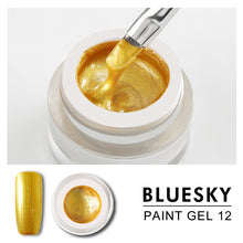 Load image into Gallery viewer, Bluesky Professional - Gold Gel Paint - #DK12