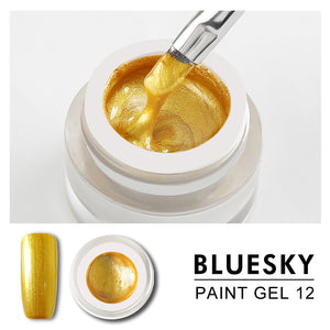 Bluesky Professional - Gold Gel Paint - #DK12