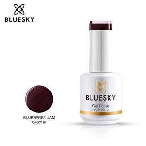 Bluesky Professional BLUEBERRY JAM bottle, product code QXG311