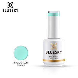 Bluesky Professional SAGE GREEN bottle, product code QXG791