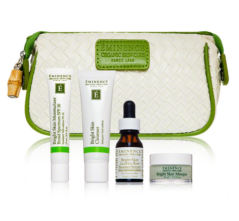 Eminence Bright Skin Starter Set (4 piece)