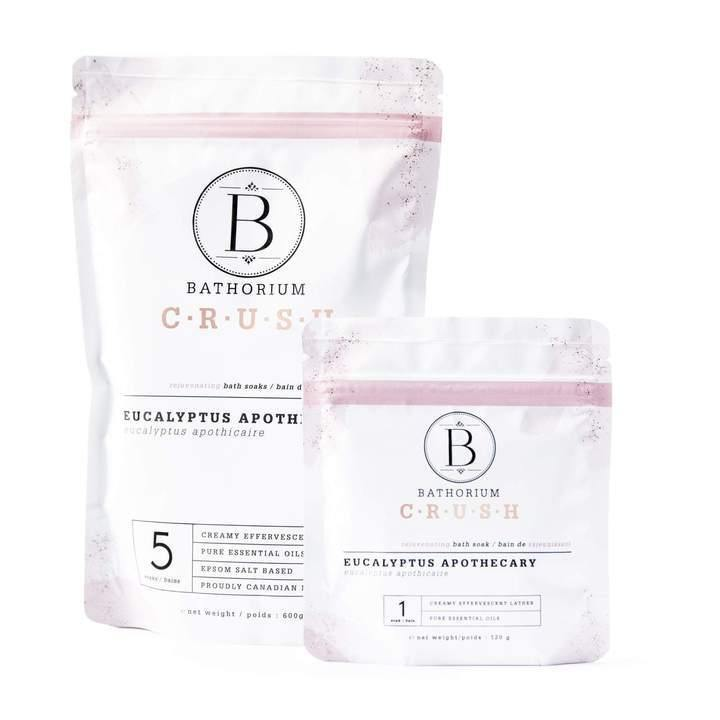 Bathorium CRUSH Eucalyptus Apothecary Bath Soak