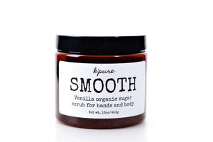 K'Pure SMOOTH Organic Sugar Scrub for Hands and Body