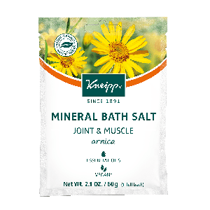 Kneipp Arnica Mineral Bath Salt - Joint & Muscle