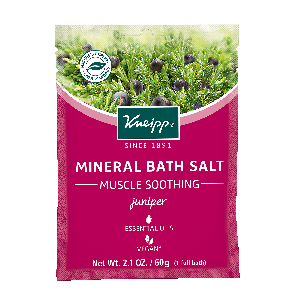 Kneipp Juniper Mineral Bath Salt - Muscle Soothing