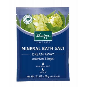 Kneipp Valerian & Hops Mineral Bath Salt - Dream Away