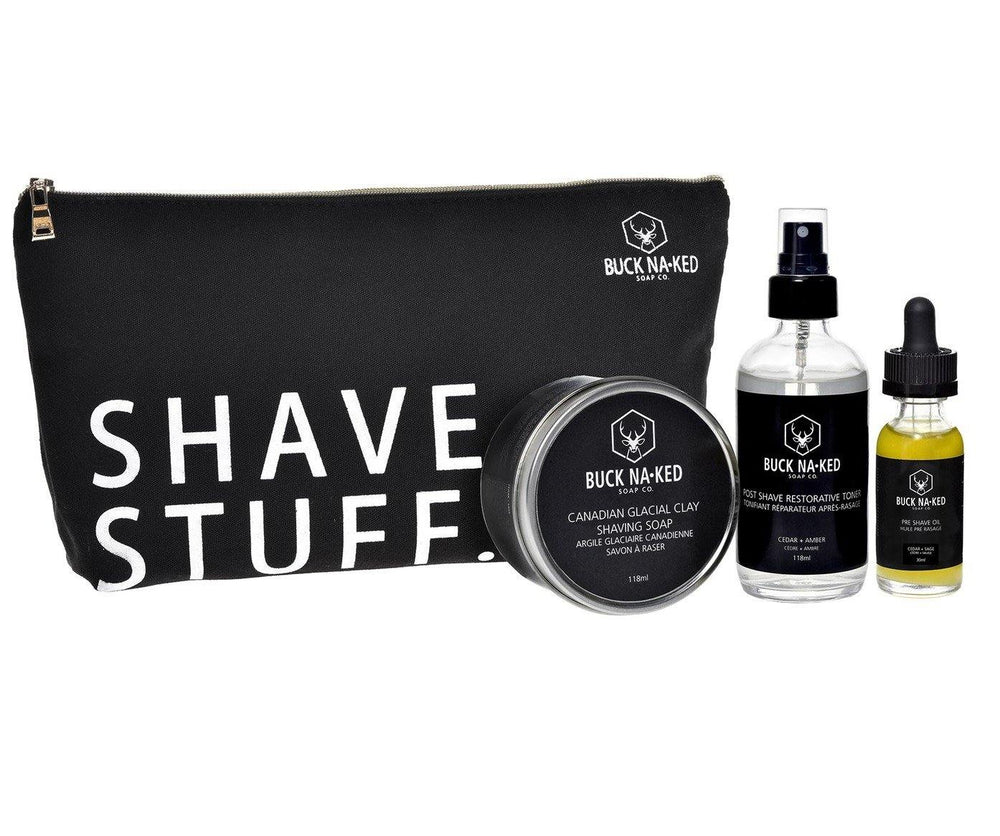 Buck Naked Shave Stuff Essentials Collection