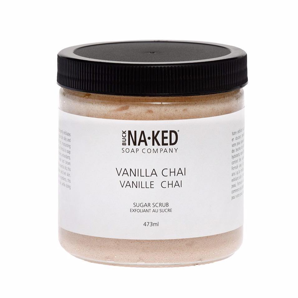 Load image into Gallery viewer, Buck Naked Vanilla Chai Sugar Scrub