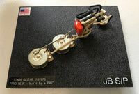 Wiring Harness for Fender J-Bass: Series/Parallel